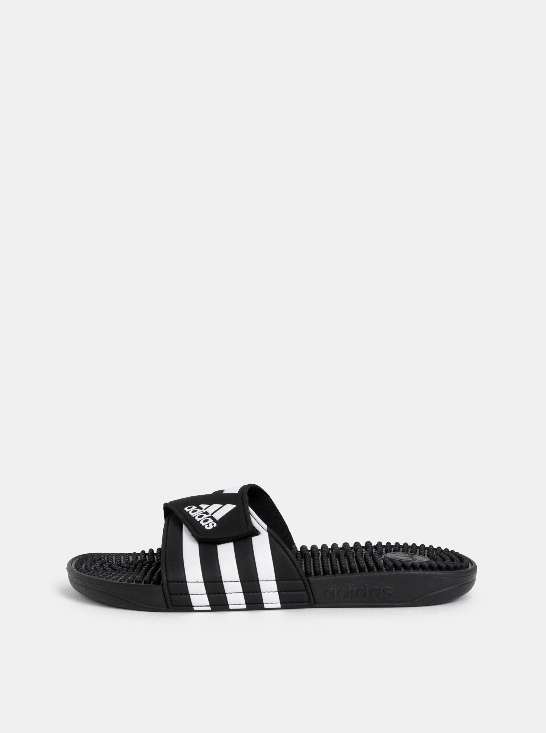 Černé pánské pantofle adidas Performance Addisage