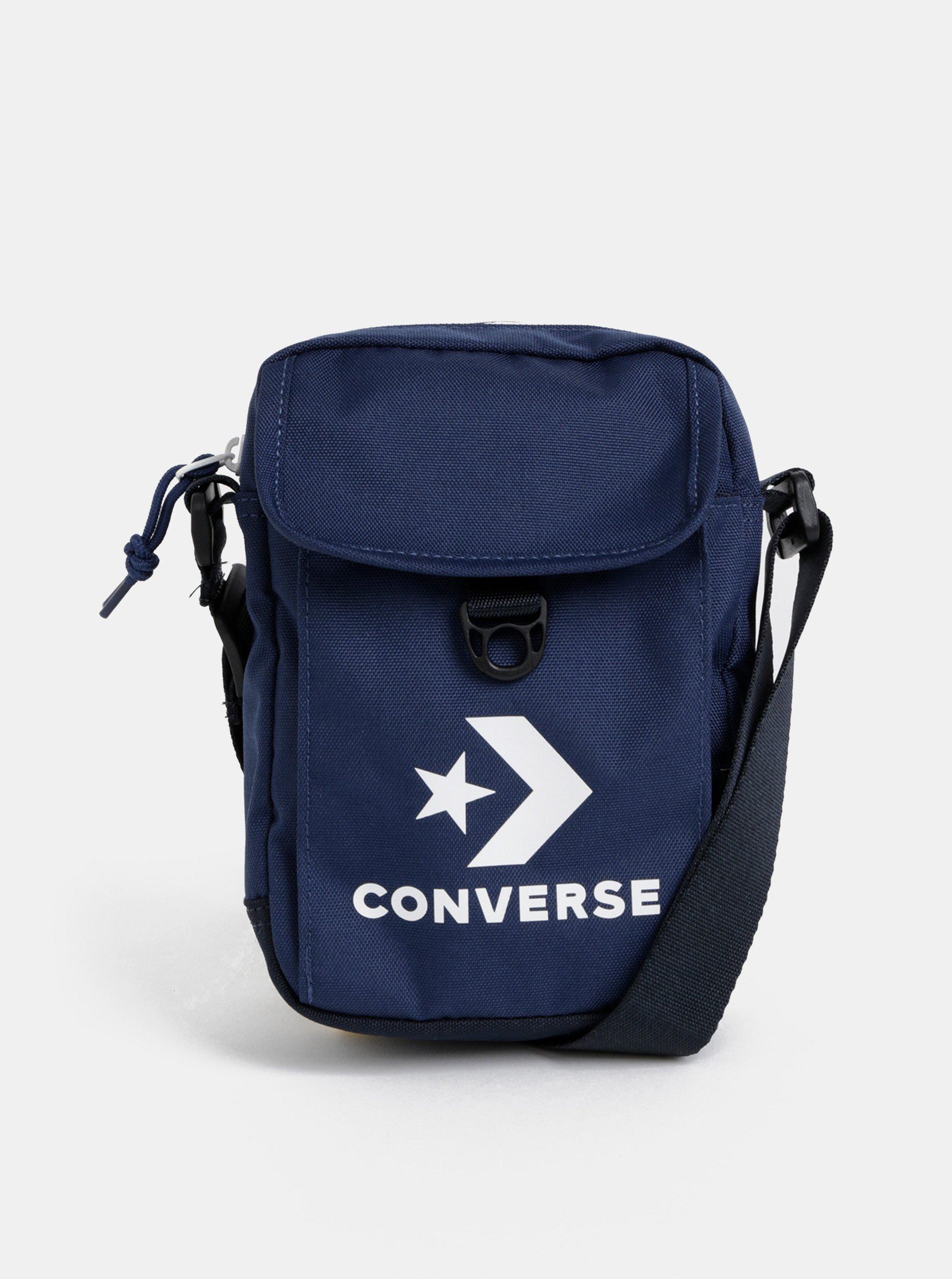 9821cad67c Tmavě modrá crossbody taška s potiskem Converse