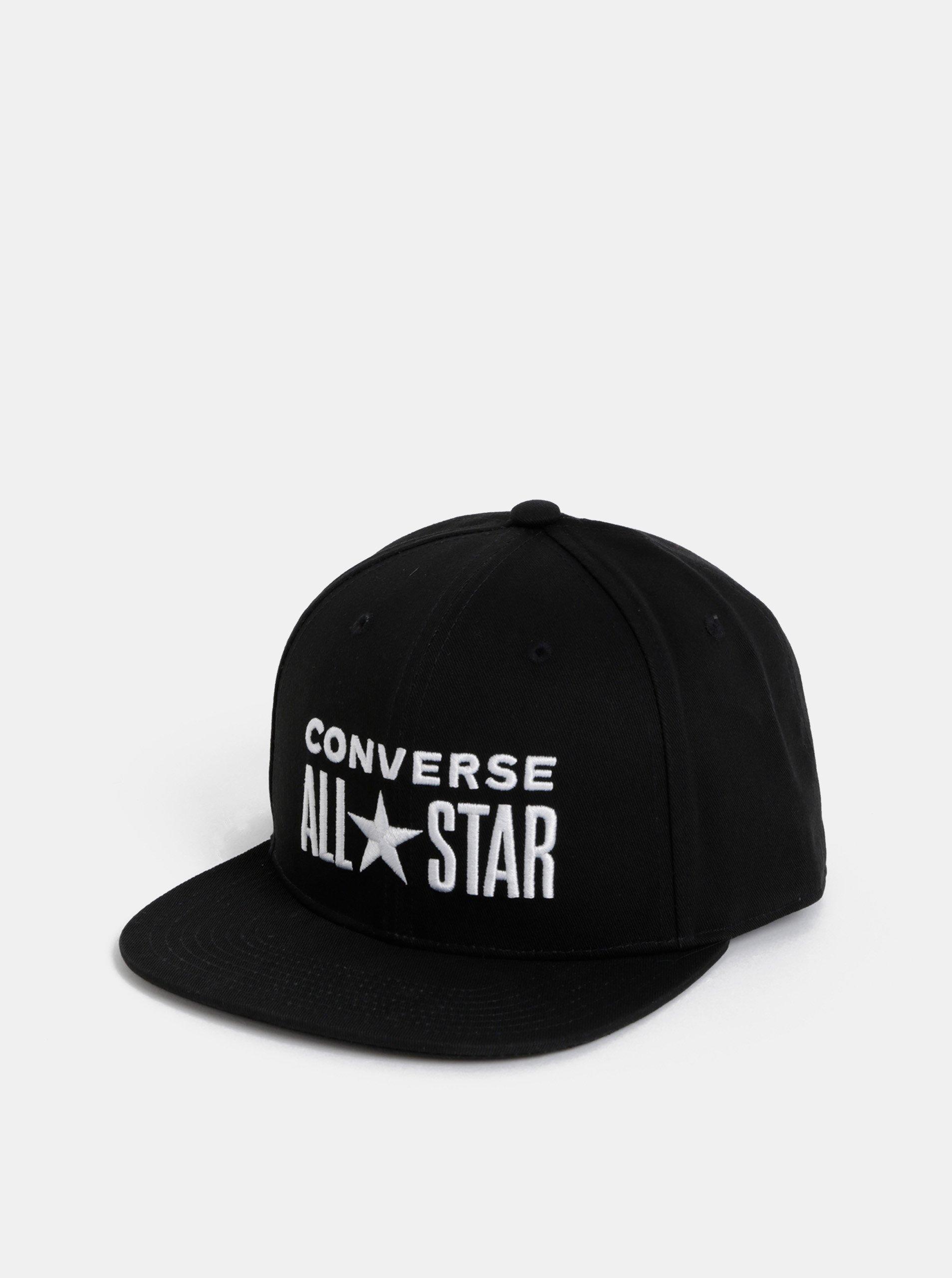 14f8559b6 Čierna šiltovka s výšivkou Converse