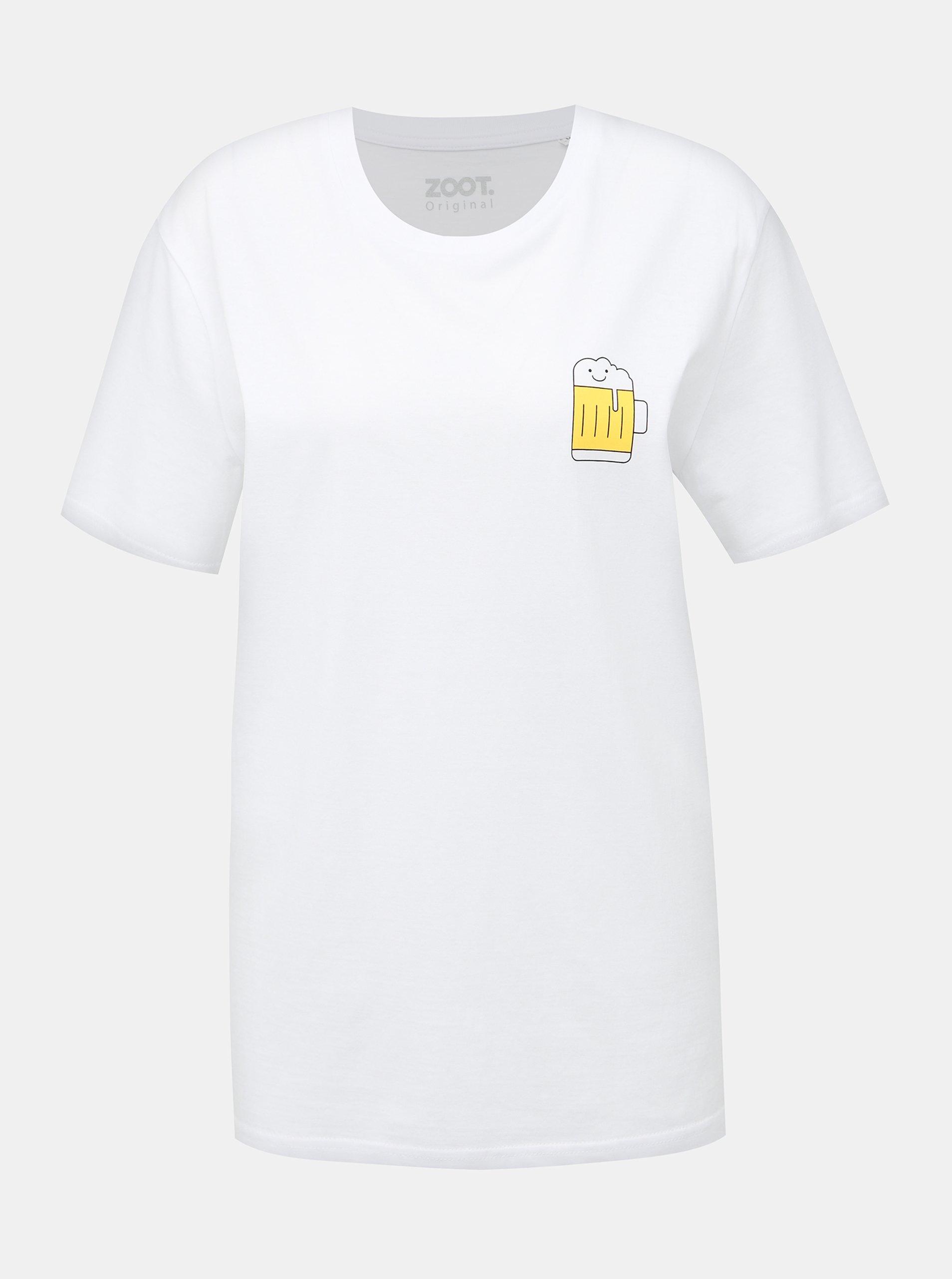 Biele dámske tričko ZOOT Original Pivo