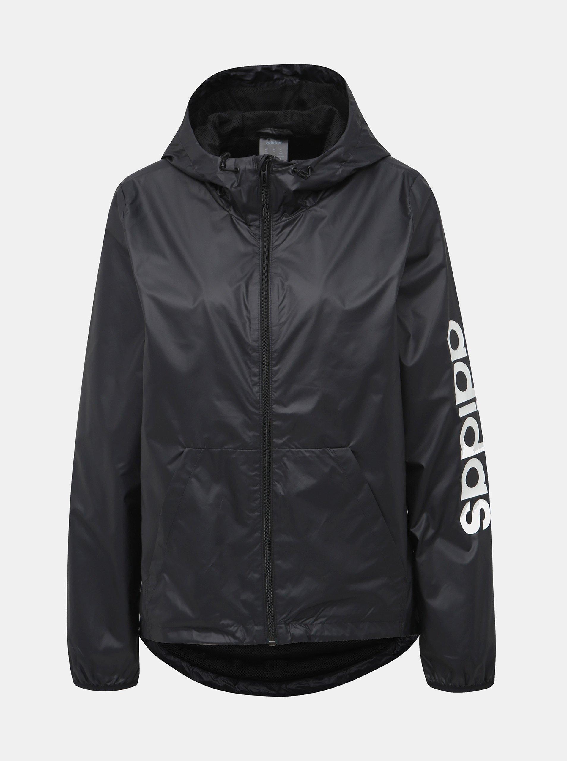 Fotografie Černá dámská bunda adidas CORE