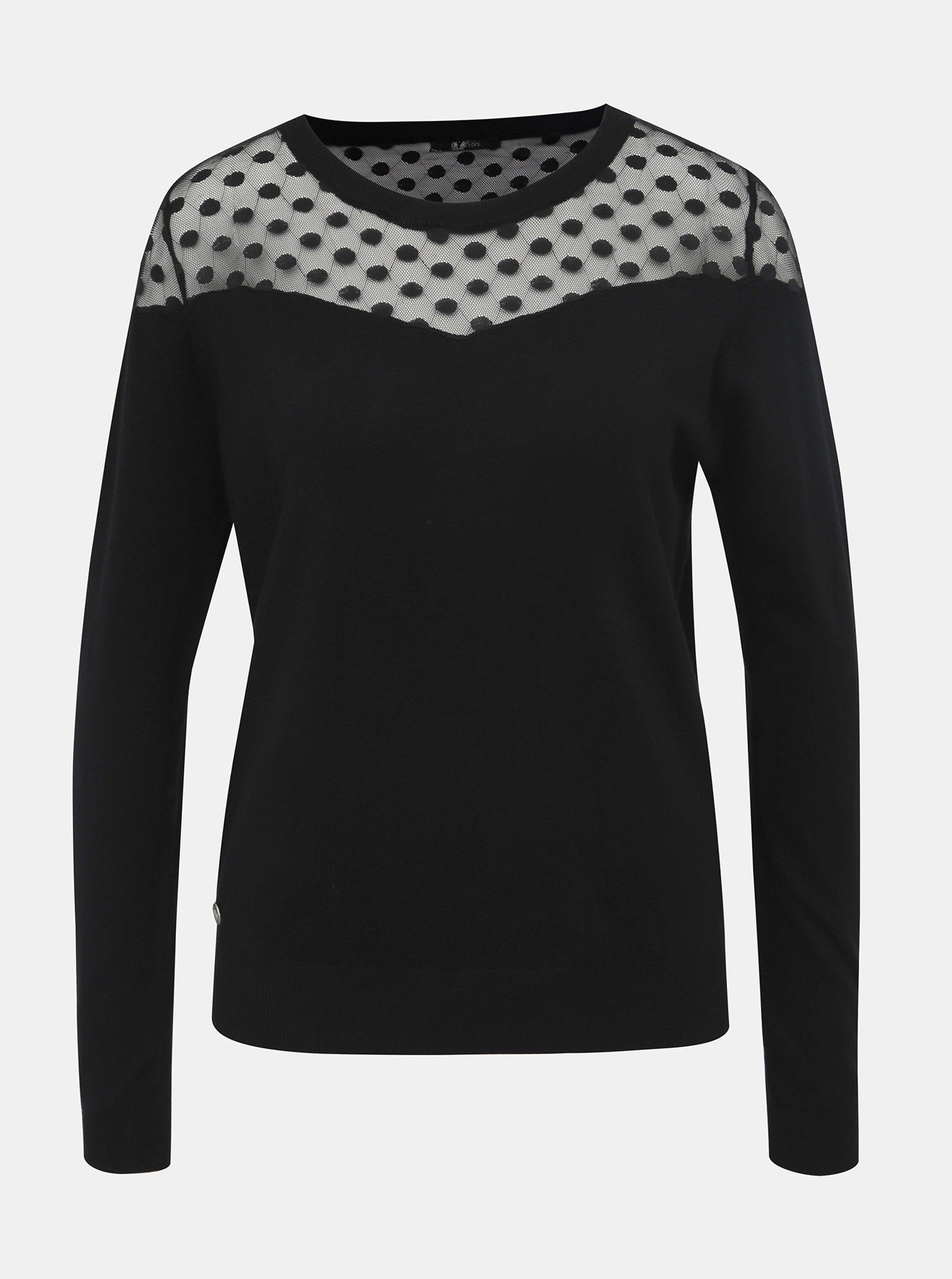 Čierny dámsky sveter Haily´s Noemy