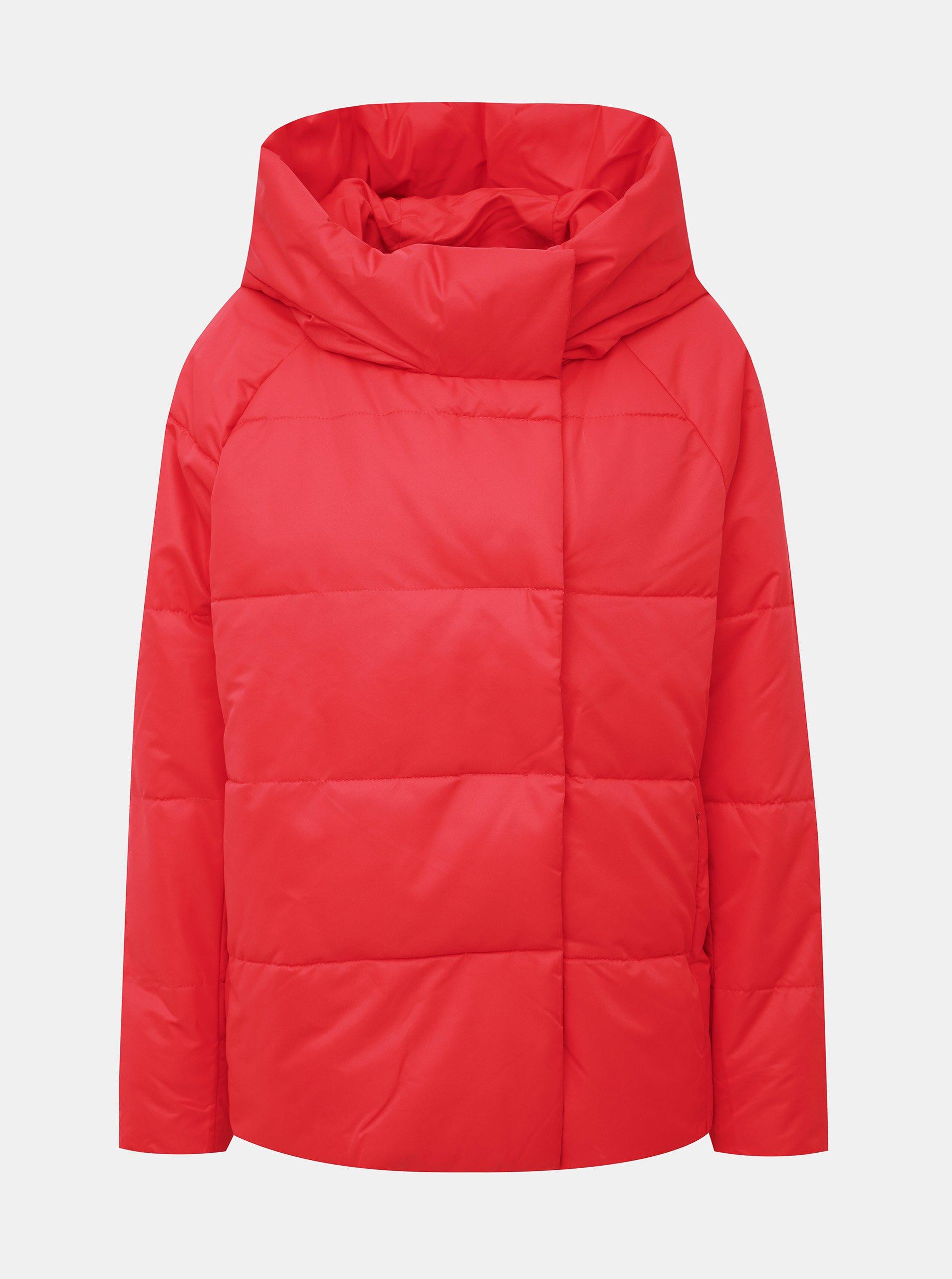 Červená zimná bunda ONLY June
