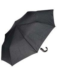 Černý pánský skládací vystřelovací deštník Doppler