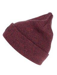 Modro-červená žíhaná zimní čepice Jack & Jones Basic DNA