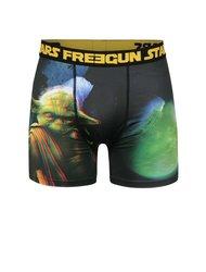 Boxeri negri cu print 3D Star Wars Freegun