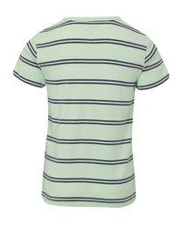 Modro-zelené klučičí pruhované tričko name it Villy - 2