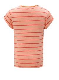 Růžové holčičí pruhované tričko name it Verit - 2