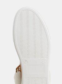 Světle hnědé semišové kotníkové zimní boty s umělým kožíškem OJJU - 1