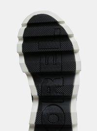 Černé dámské zimní kotníkové voděodolné boty v semišové úpravě SOREL Kinetic - 1