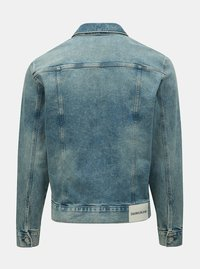 f9d8e2460 Modrá pánská džínová bunda Calvin Klein Jeans - Pánské oblečení