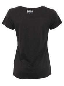 Čierne dámske tričko ZOOT Originál Čáu a mňáu