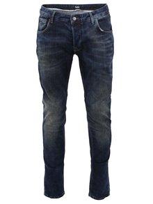 Tmavě modré slim džíny !Solid Joy Stretch