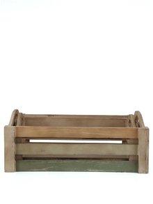 Set de două cutii de lemn romantice Dakls