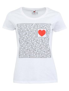 Tricou ZOOT Original Find the Way alb de damă
