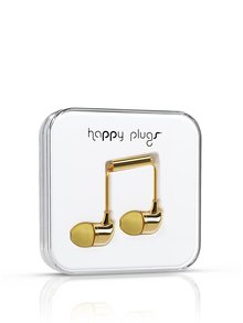 Căști In-Ear Happy Plugs aurii