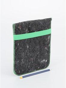 """""""Dobrý"""" obal na tablet FOREWEAR so zelenou gumou"""