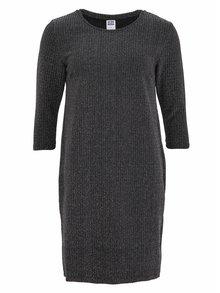 Černé třpytivé šaty VERO MODA Polly