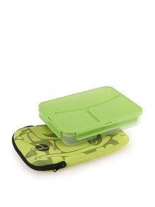 Zelený box na jídlo Prêt à Paquet