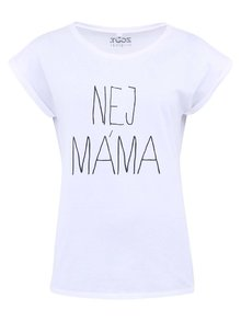 Bílé dámské tričko ZOOT Originál Nej máma
