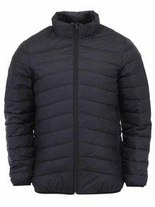 Jachetă neagră Selected Drift cu puf