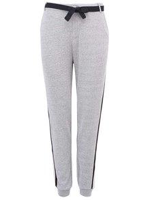 Pantaloni de damă gri, cu dungă laterală de la Scotch & Soda