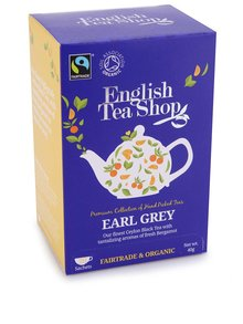 Čierny čaj Earl Grey English Tea Shop Bio
