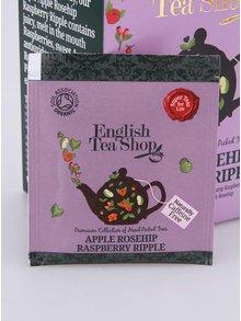 Ovocný čaj English Tea Shop Šípky, Jablko & Malina Bio