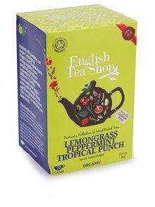 Čaj English Tea Shop Citrónová Tráva, Mango  & Tropické Ovocie Bio