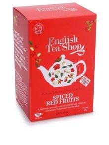 Ovocný čaj English Tea Shop Korenené červené Ovocie Bio