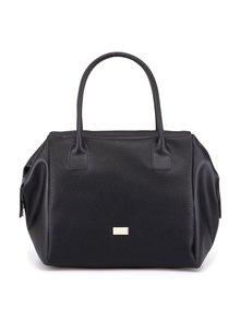 Čierna veľká kabelka s uškami OJJU