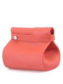 Červené silikónové vrecko na desiatu Compleat Foodbag