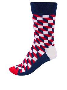 Șosete pentru bărbați Happy Socks Filled Optic cu imprimeu