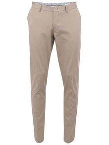 Pantaloni chino bej Bertoni pentru bărbați