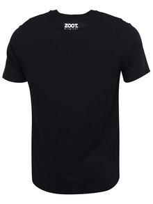 Čierne pánske tričko ZOOT Originál Jedu na rumu