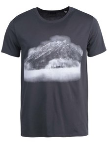 Tmavě šedé pánské triko ZOOT Originál Hora