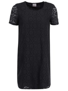 Černé krajkované šaty VERO MODA Lace