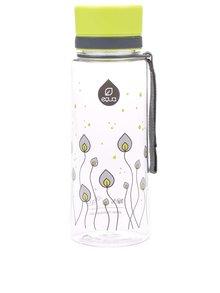 Sticlă din plastic cu imprimeu cu frunze verde/gri EQUA (600 ml)