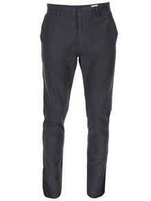 Tmavo sivé nohavice Selected Arval