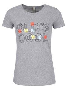 """""""Dobré"""" šedé dámské tričko Elpida Old´s Cool"""