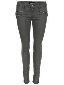 Khaki džíny se zipy Haily´s Nadira
