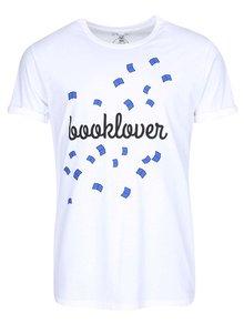 """""""Dobré"""" bílé pánské tričko s potiskem Belles Lettres"""