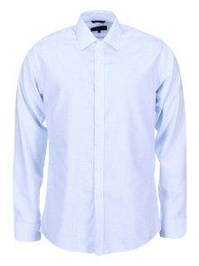 Bílo-modrá kostkovaná slim fit košile Seven Seas Castaway