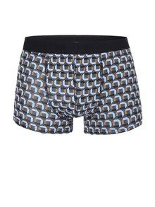 Šedozelené boxerky s barevným vzorem ONLY & SONS Sergio