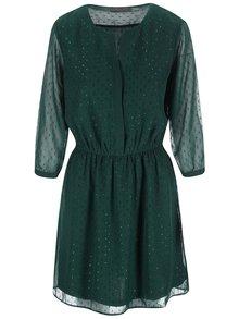 Zelené šaty s třpytivou aplikací VERO MODA Hitta