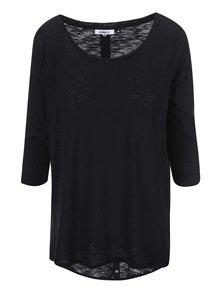 Bluză neagră ONLY Casa cu inele decorative