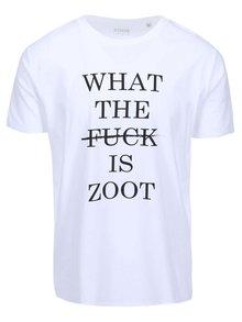 Biele pánske tričko ZOOT Originál What The Fuck
