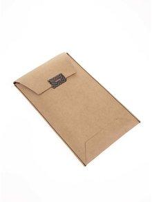 Hnědá unisex kožená peněženka 2v1 Bellroy Carry Out