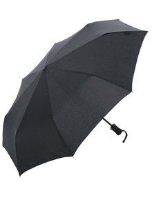 Čierny vystreľovací dáždnik Derby