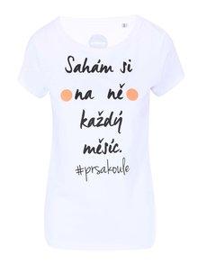 """""""Dobré"""" bílé dámské tričko pro Loono"""
